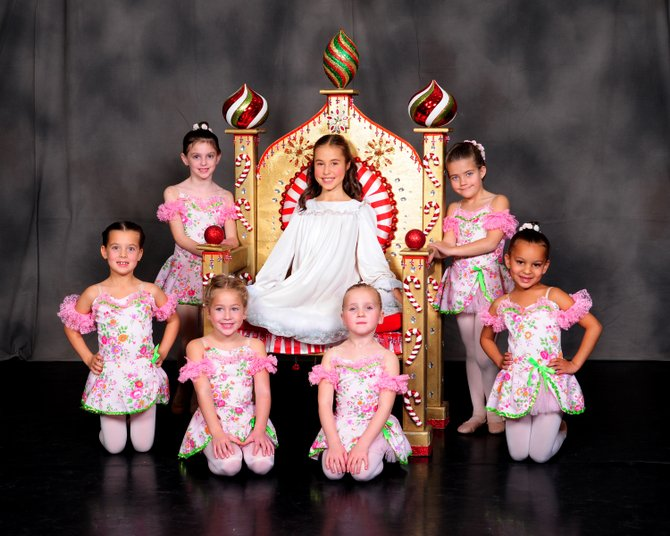 Pictured are young dancers from the North Country Ballet Ensemble during a performance of the Nut Cracker in 2012.  