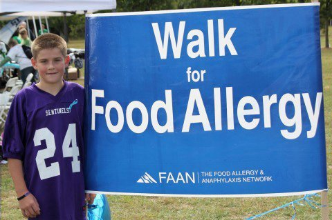 Ethan Thompson has serve allergies. Even being near a peanut can cause the Ticonderoga student to go into anaphylaxis, a serious allergic reaction that can cause death. He is allergic to peanuts, tree nuts, shellfish and other foods.