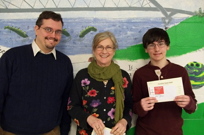 Matt Bosley from Westport claimed first place, Kathy Seguin Benn of Westport came in second and Nick Manfred from Moriah placed third in the Port Henry Scrabble tournament. The Scrabble Day raised awareness and funds to support Literacy Volunteers of Essex/Franklin Counties.