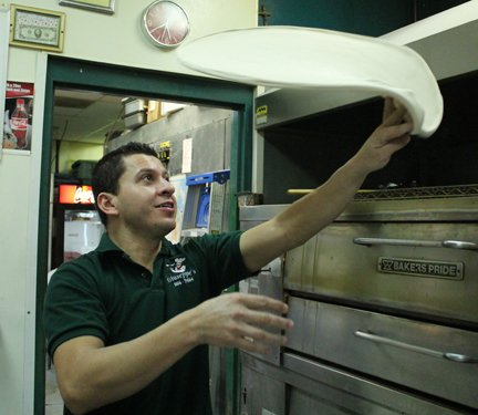 Silvio Amaya, owner of Giuseppe's, takes pride in serving freshly made food to his customers.