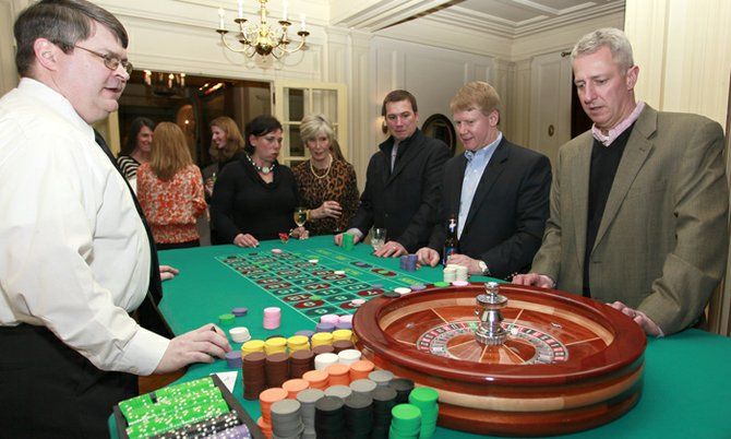 The Friends of Lorenzo hosted the second annual Casino Night at the Lincklaen House on March 8. More than 80 people participated in the event, in which participants played casino favorites to win raffle tickets for locally-donated raffle prizes. All of the proceeds from this event will go towards supporting the efforts and goals of the Friends of Lorenzo, a non-profit group of dedicated individuals interested in preserving and protecting the Lorenzo mansion and 87 acres of historic grounds.