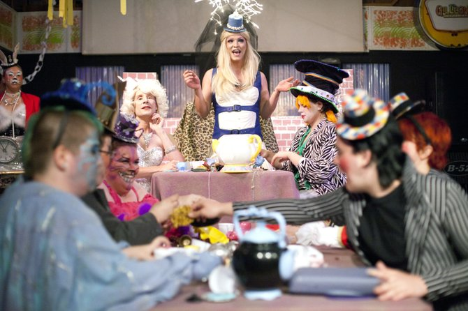 "The Haus of Starr's take on Alice in Wonderland, called ""Back Down the Rabbit Hole,"" drew more than 300 people to the now-closed Gilligan's Getaway last year."
