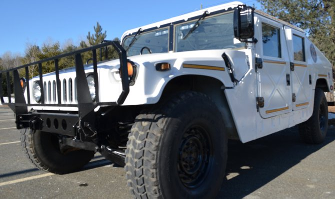 The new Essex County Sheriff&#39;s Department Humvee