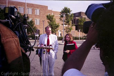 Photos from the 2006 Christopher Porco murder Trial. The trial was moved from Albany County to the Orange County town of Goshen.
