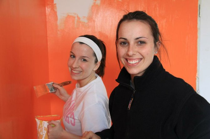 The College of St. Rose student Ashley Hartman, a Colonie Central High School graduate, spent her spring break with a group of students fixing up homes in New Orleans post-Hurricane Katrina.
