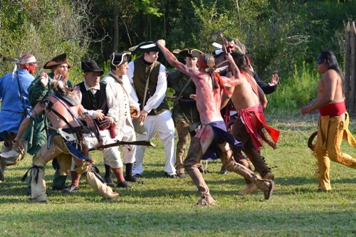 Emphasizing New York State's relevance to the American Revolution, for the second year in a row Drums Along the Mohawk Outdoor Theater will showcase a historical fiction play before a live audience directly on the soil where the action took place hundreds of years ago.