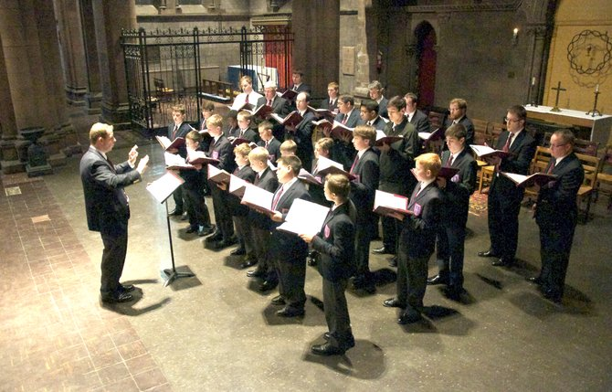 The Cathedral Choir of Men and Boys is made up of boys ages 7 to 14 singing soprano alongside professionals. The traditional group will be singing at a special fundraiser, Vin De Choir: A Night of Wine and Song, on Friday, April 19.