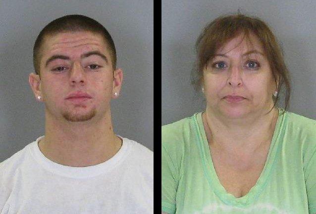 Richard Dematteo, 20, and his mother Elizabeth Leonardo, 51, both of Slingerlands.