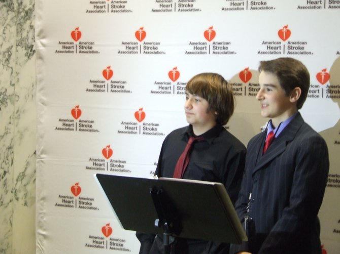 On Tuesday, April 16, Casey Stashenko, 14, and Joey Mendrick, 12, advocated for lawmakers at the Capitol to pass a bill requiring mandatory CPR training for high school students.