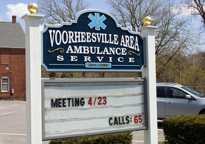The Voorheesville Area Ambulance Service and village officials haven't nailed out a contract both sides can agree on. Their existing agreement expired four months ago.