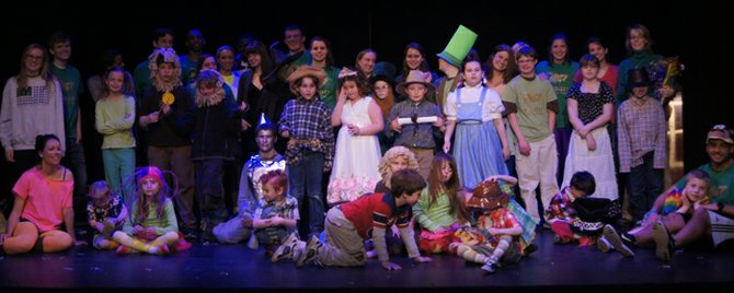 The cast and crew of the Oz Project