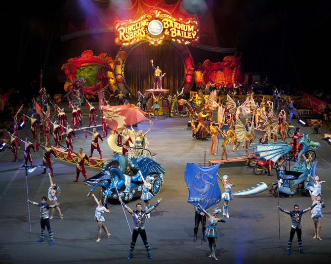 See Ringling Bros. and Barnum & Bailey's DRAGONS at the Times Union Center May 2 through May 5. Tickets can be purchased online at ticketmaster.com or by phone at 800-745-3000. For more information about the show, visit www.ringling.com.
