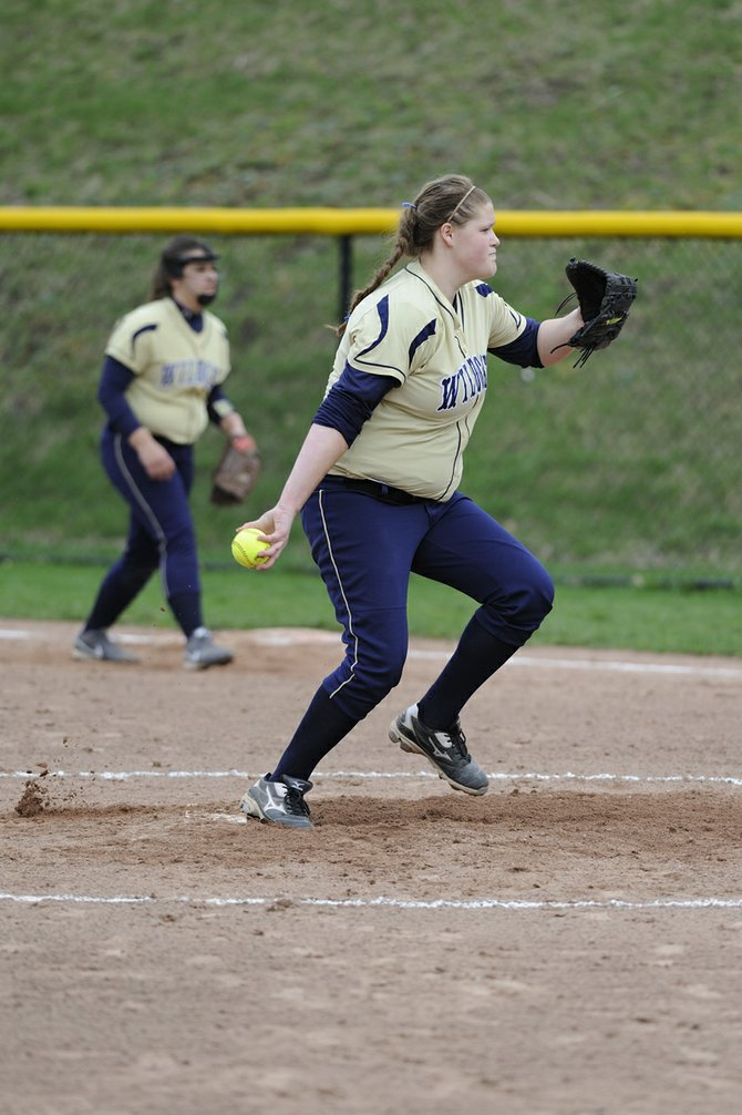 West Genesee pitcher Morgan Nichols logged all 13 innings in her team's marathon 9-8 victory over Liverpool on April 25 and, a week later, managed to beat defending Class A champion Jamesville-DeWitt 3-2 with a complete-game six-hitter.