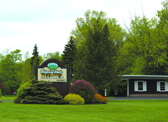 Whispering Winds Motel on Route 20 outside of the village of Skaneateles recently changed ownership.