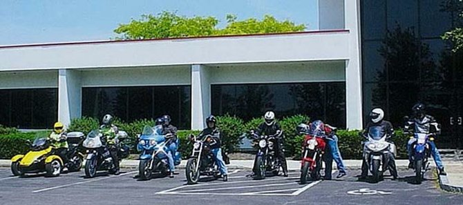 Participants of the 2011 Cazenovia Lions Club Ride for Sight gather in front of GHD before setting off on the annual trek. This year's ride will begin a 1 p.m. Saturday, June 8, from the GHD parking lot.