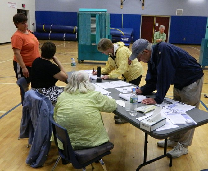 About 650 Cazenovia school district residents turned out May 21 to vote on the budget and elect two school board members. The budget passes 444 to 207.