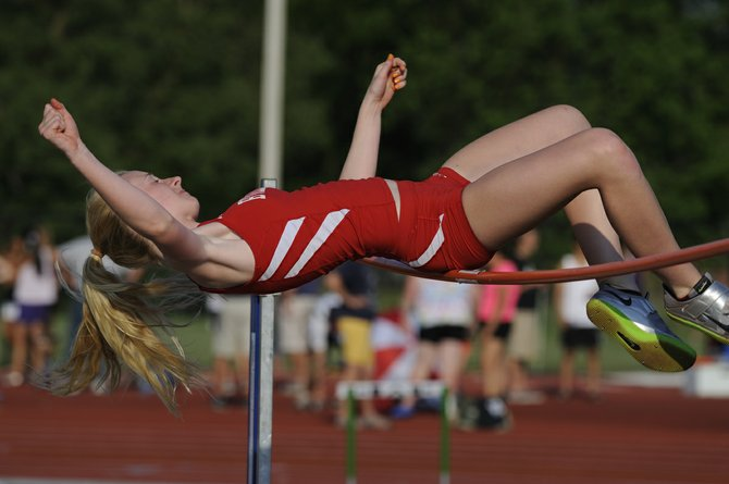 Baldwinsville girls track and field junior Emily Soeder was victorious in the high jump in Thursday's Section III state qualifying meet at Cicero-North Syracuse. Soeder cleared 5 feet 3 inches and will compete next weekend in the state championships at Middletown.