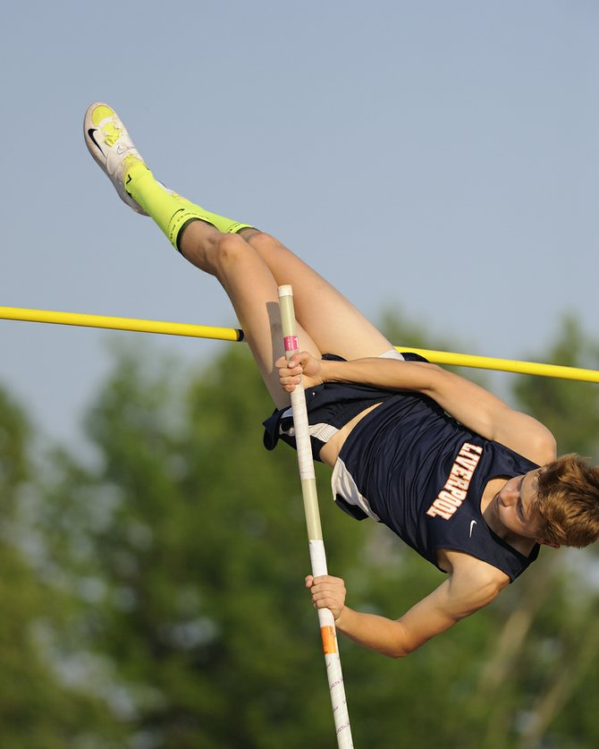 Liverpool boys track and field star Travis Chewning-Kulick earned a victory in the pole vault during Thursday's Section III state qualifying meet at Bragman Stadium. As the only athlete to clear 13 feet 6 inches, Chewning-Kulick earned a berth in this weekend's state meet at Middletown.