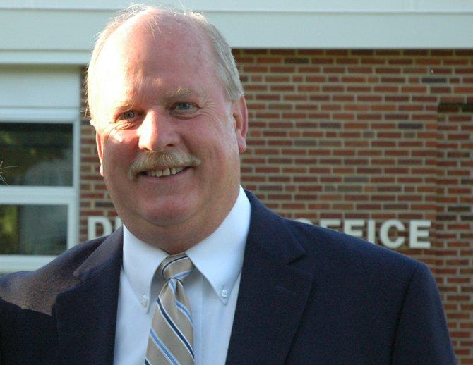 Long-time Skaneateles Board of Education member Michael Card.