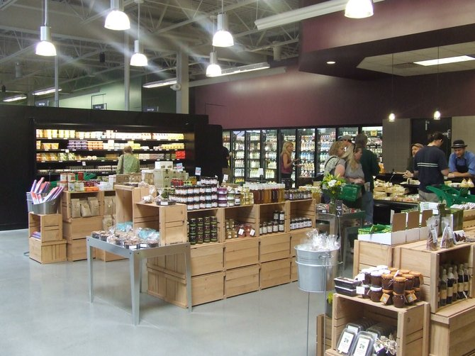 The new Honest Weight Food Co-Op opened its doors at 100 Watervliet Ave. with 18,000 square feet of retail space, doubling what was available at the former Central Avenue location.
