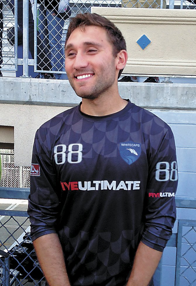 Robin Meyers is one of two Bethlehem Central High School graduates playing for the Boston Whitecaps in Major League Ultimate's inaugural season. Meyers is a defender for the unbeaten Whitecaps.