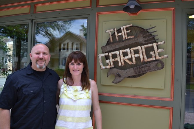 Jamie and Kristin Hunt the owners of The Garage, formerly Joe's Pasta Garage, in Skaneateles.