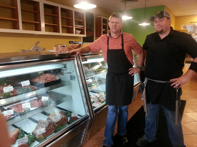 Greg Rhoad and Kevin McCann are hoping to keep local products in the Central New York area with their new store Sid e Hill Farmers. All of the products in the store come from within an 80 mile radius of its Manlius location.