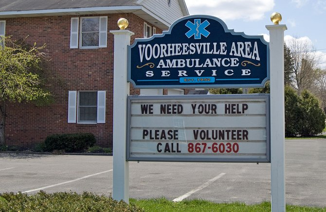 The Village Board of Trustees awarded Voorheesville Area Ambulance Service reserve funding in its this year after contract negotiations were stalled for several months.