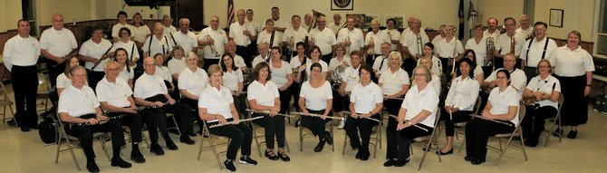 The Colonie Town Band has roughly 70 members, with 55 players each performance. They perform during the summer and winter holiday season throughout the Capital District at venues like nursing homes, town parks and schools.