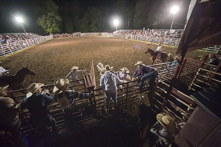 The Double M Rodeo in Ballston Spa from July 26. The Rodeo runs every Friday and Saturday nights during July and August.