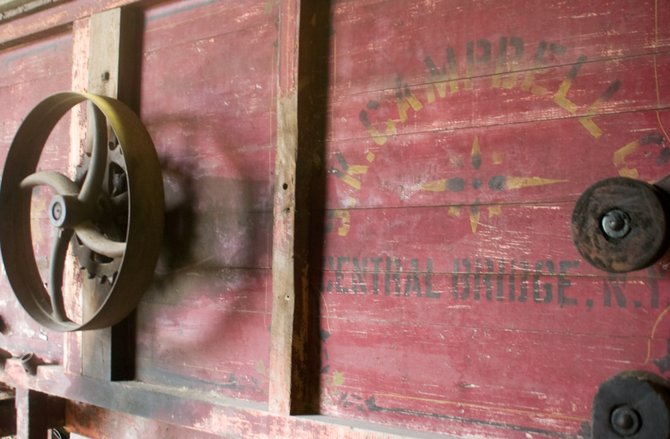 The Antique Farm Machinery Museum features several items that are operating once again during the Altamont Fair to showcase how farmers had processed crops, such as corn and hay.