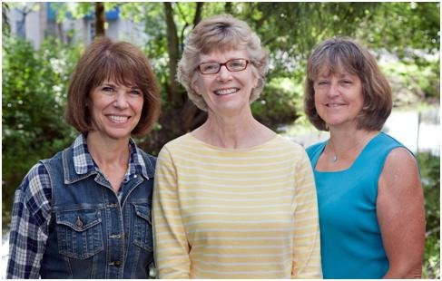 From left: Claire Howard, Mary Sennett and Connie Brace. Sennett is running for town supervisor and Howard and Brace are running for town board. The they are members of the Skaneateles Party and were also endorsed by the town Democratic committee.
