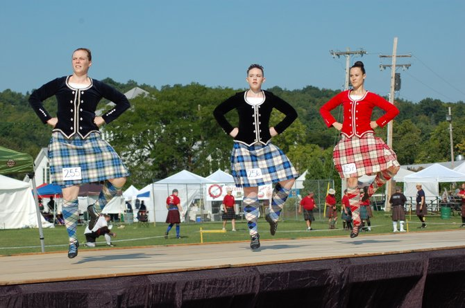 The Scottish Games will take place Saturday, Aug. 31, and Sunday, Sept. 1, at the Altamont Fairgrounds
