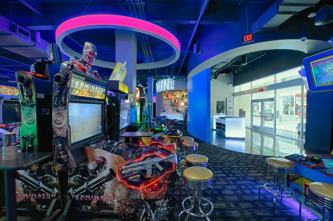 The newly opened Dave and Buster's in Crossgates Mall features 170 games from Skeeball to cutting edge video games.