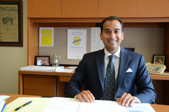 Gregory Santoro the new Skaneateles High School principal.