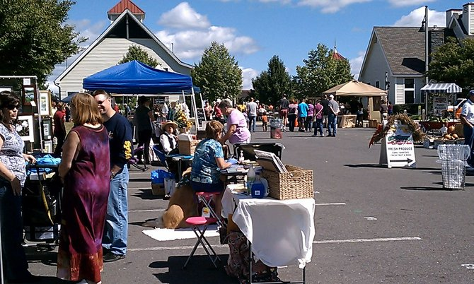 Colonie's annual Harvest Fest will take place on Sunday, Sept. 15, at The Crossings. It usually draws about 5,000 people.