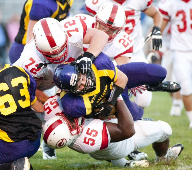 Guilderland travelled to Ballston Spa on opening night of the High School football season on Sept. 6. The Dutchmen came back to win the game 28-21.