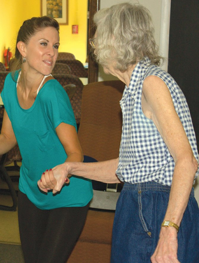 The Alzheimer's Association of Central New York's Kirkpatrick Day Program offers a dance and movement therapy program. It's the only adult day program in the area to offer such therapy.