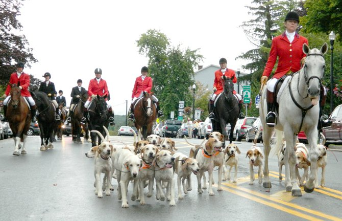 The Limestone Creek Hunt Club's annual Parade of Hounds took place last Sunday, Sept. 8.
