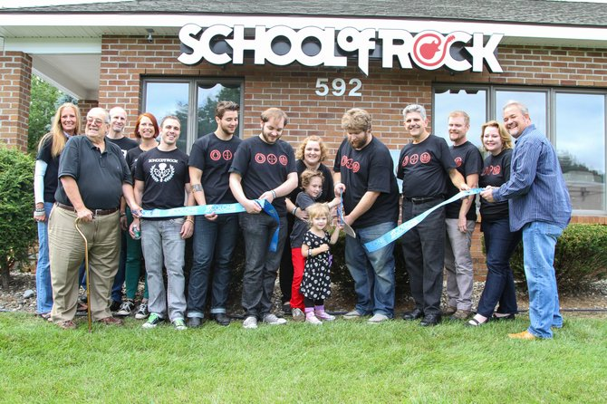 A Latham branch of School of Rock recently opened. The franchise focuses on getting kids comfortable performing rock music.