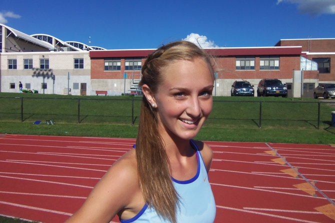 Skaneateles girls cross country senior Madeline Adams played a critical role for her team in Saturday's McQuaid Invitational. The Lakers placed third in the Varsity A race behind East Aurora and Tully, as Adams placed 42nd in 19:39.1 in a field of nearly 300 runners from 28 teams.