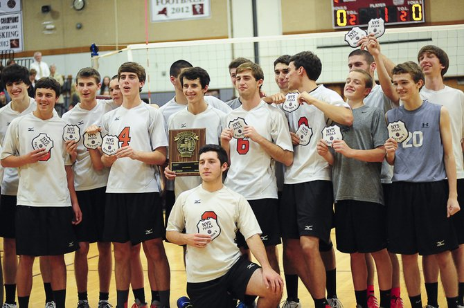 Bethlehem took on Shenendehowa at Burnt Hills in the Section 2 volleyball final on Nov. 1. The Eagles won the event 3-0 to advance to the regionals.
