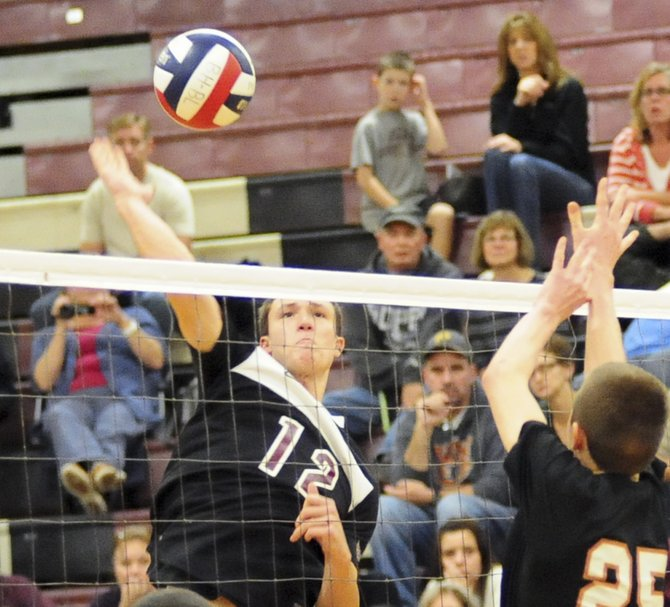 Burnt Hills hosted Mohonasen in the Section 2 Boys Volleyball Division 2 finals on Nov. 1. The Spartans defeated Mohon to move on to the regionals.