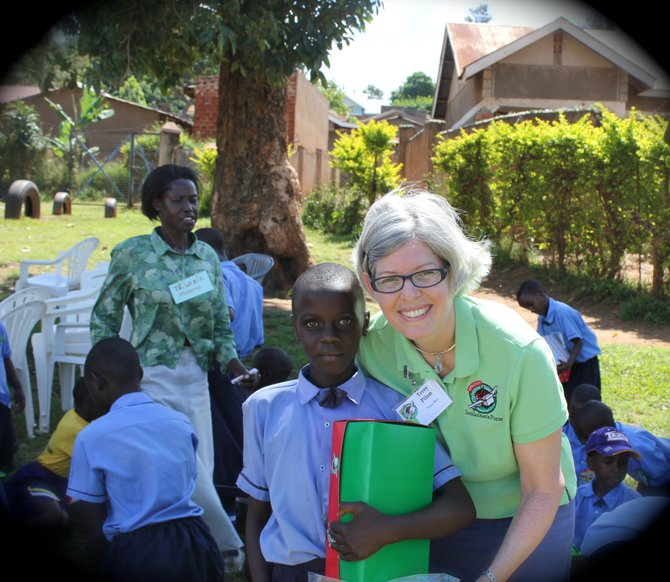Terry Pilon and other members of Bethlehem Community Church traveled to Uganda in May as part of Operation Christmas Child.