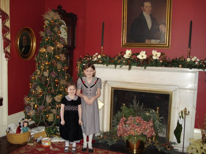 The Ten Broeck Mansion in Albany gets dressed in its holiday best for a full slate of events.