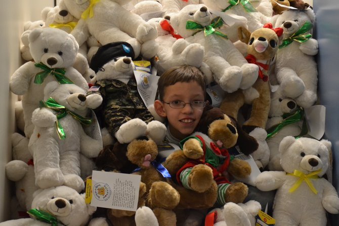 Kamrin Eischen, a fifth grader at East Syracuse Elementary School, organized an effort to raise almost $700 to stuff more than 70 Build-A-Bears, which were donated to children in need this Christmas.