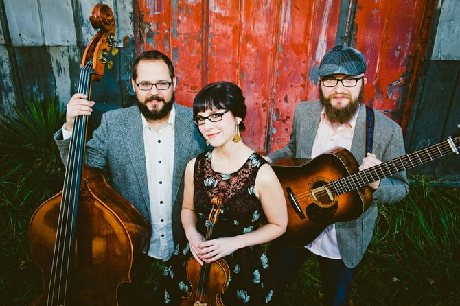 The April Verch Band will play at Old Songs Saturday, Jan 18.
