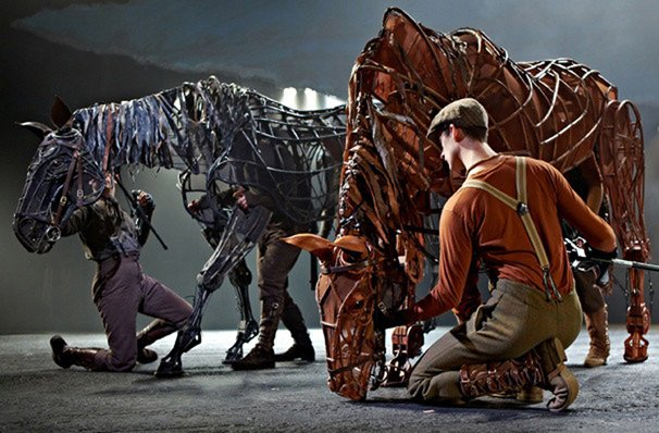 """War Horse,"" playing at Proctors this weekend, uses imaginative stagecraft to tell the story of a young man who tries to find his beloved horse who has been enlisted to fight for the English in World War I."