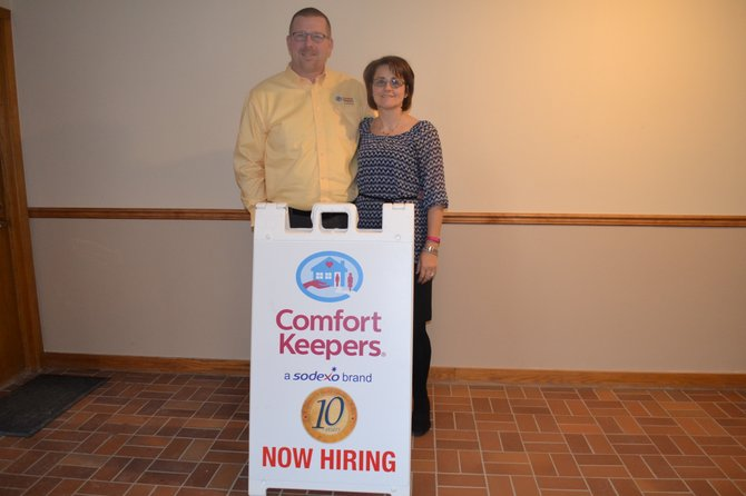 Ian and Michele Webber opened Comfort Keepers in Syracuse in 2004. Last November, they moved their business to DeWitt to cater to their clients, many of whom live in the Fayetteville-Manlius and Jamesville-DeWitt areas.