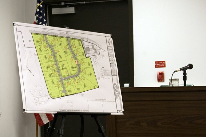 Daniel Hershberg, representing Country Club Partners, presented a site plan for an 18-lot residential subdivision, which would be known as Country Club Estates, at the New Scotland Planning Board meeting Tuesday, Feb. 4.